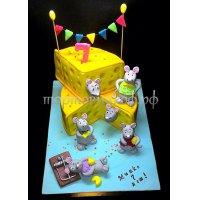 Детский торт #289