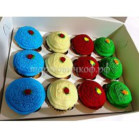 Капкейки и мини пирожные #41