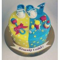 Детский торт #394
