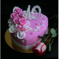 Свадебный торт #77