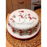 Торт на новый год #80