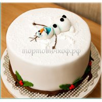 Торт на новый год #16