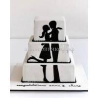 Торт свадебный на заказ - Свиданье