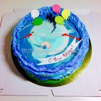 Детский торт #84