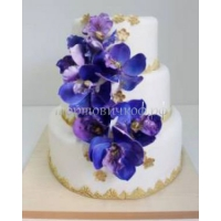 Торт свадебный на заказ - Цветник