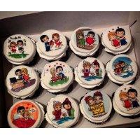 Капкейки и мини пирожные #12