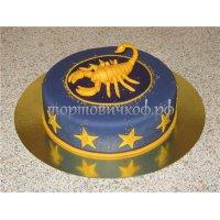 Прикольные торты на день рождения # 8