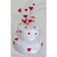 Торт свадебный на заказ - Сердечки