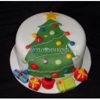 Торт на новый год #24