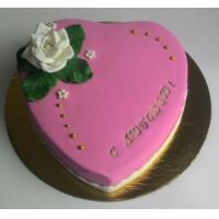 Торт на заказ женский - Сердце