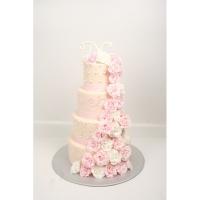 Торт свадебный на заказ - № 227