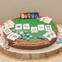 Торт для мужа - Покер