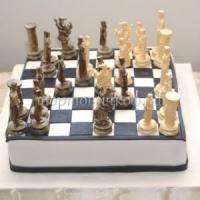 Торт для мужа - Шахматы