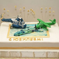 Торт для мужа - Летчик