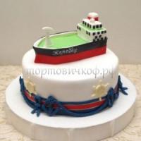 Торт для мужа - Баржа