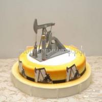 Торт на заказ на день рождения - Нефтяник