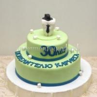 Торт на заказ -  С юбилеем 30 лет