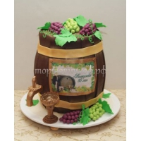 Торт для мужа - Бочонок счастья