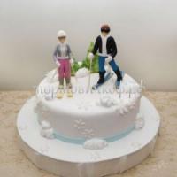 Торт для мужа - Зимушка