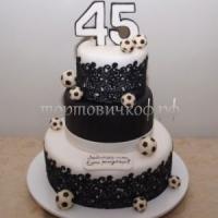 Торт для мужа - Футбольные мечи