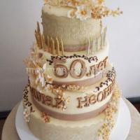 Торт для мужа - Юбилей 50 лет