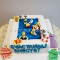 Торт для мужа - Мы семья