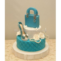 Торт для мамы - Синяя сумка