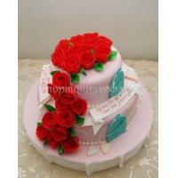Торт для мамы - Розочки