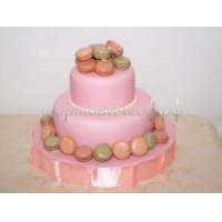 Торт для мамы - Розовое чудо