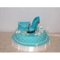 Торт для мамы - Голубая туфелька