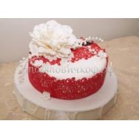 Торт для мамы - Цветок