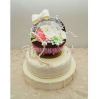 Торт для мамы - Корзина цветов