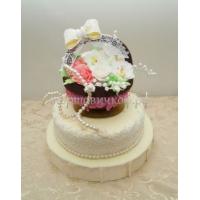 Торт для жены - Корзина цветов