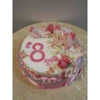 Торт для мамы - Весна 8 марта