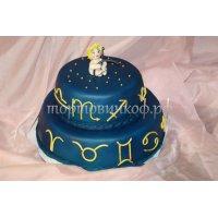 Прикольные торты на день рождения # 11
