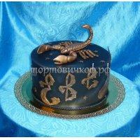 Прикольные торты на день рождения # 12