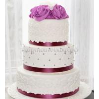 Торт свадебный на заказ - № 012