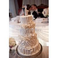 Торт свадебный на заказ - № 006