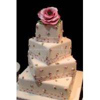 Торт свадебный на заказ - № 008
