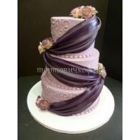 Торт свадебный на заказ - № 009