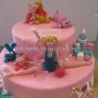 Детский торт на заказ - Акробатка