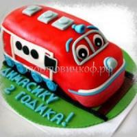 Детский торт на заказ - Машинка