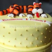 Детский торт на заказ - Тигра