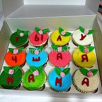 Капкейки и мини пирожные #20