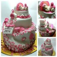 Детский торт на день рождения в СПб - один годик