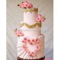 Свадебный торт #40