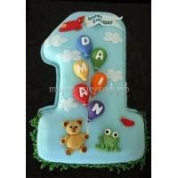Детский торт на заказ - Нам Годик