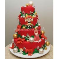 Торт новогодний - Ажиотаж