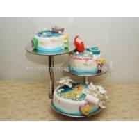 Новогодний торт - Сани