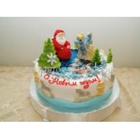 Торт на новый год - Морозка